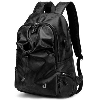 USB Port Design Fashion Men's Backpack