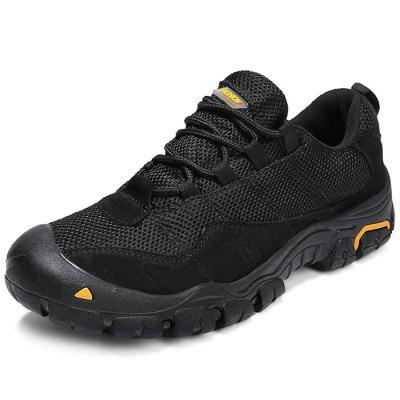Stylish Breathable Mesh Travel Lace-up Men Sneakers