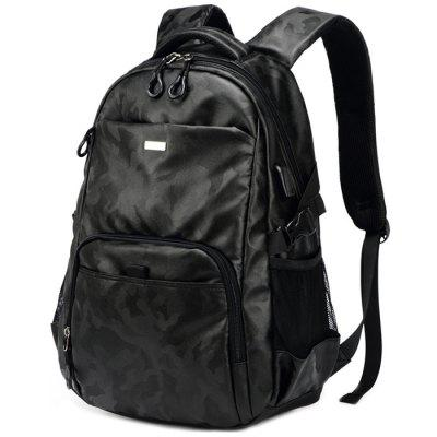 Oxford Fabric Casual Men's Backpack
