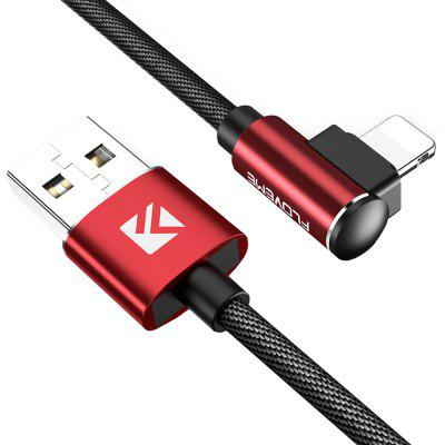 FLOVEME 1m Bended Design Charging Cable with 8 Pin Interface