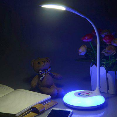 YWXLight Colorful Touch Table Lamp Dimmable Night Light