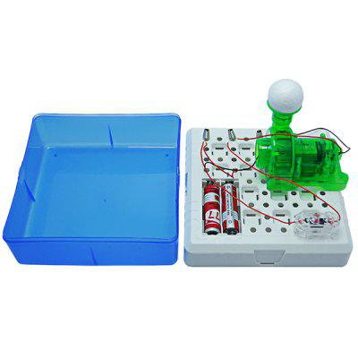 Trendy DIY Assembled Suspended Ball Experiment Toy Set