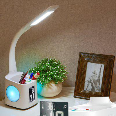 T188 Calendar Charging Bluetooth Desk Lamp 220V