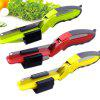 Kitchen Multifunctional Smart Scissors - GREEN YELLOW