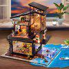 DIY Valencia Coastal Villa Dollhouse Miniature Furniture Set Gift - MIDNIGHT