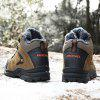 Men Outdoor Warm Anti-slip Shock-absorbing Hiking Shoes - WOOD