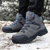 Men Outdoor Warm Anti-slip Shock-absorbing Hiking Shoes - DARK GRAY