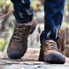 Male Stylish Comfortable Outdoor Ventilate Sports Shoes - DEEP BROWN