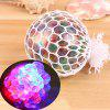 Funny Glowing Squishy Winogrona Squeeze Ball Mesh Stress Relief Toy - WIELO