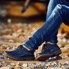 Stylish Durable Casual Leather Shoes for Men - BLACK