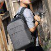 Large Capacity USB Port Design Men's Backpack - DARK GRAY