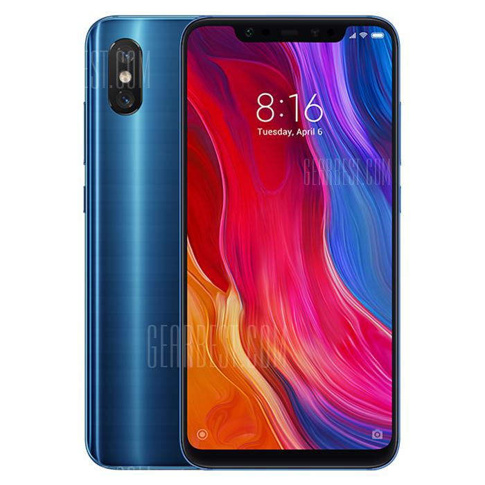 ChinaBestPrices - Xiaomi Mi 8 4G Phablet Global Version