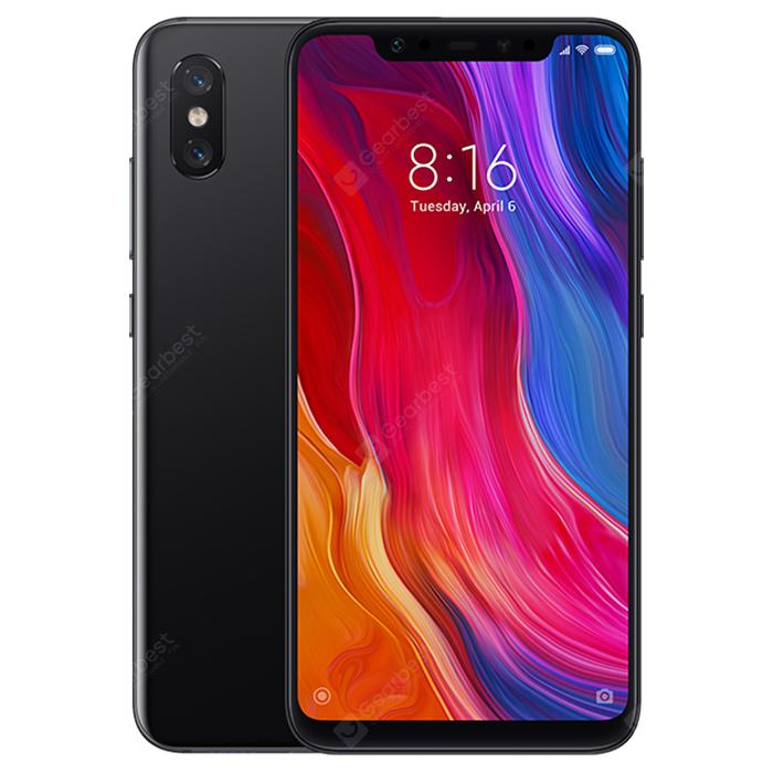 Xiaomi Mi 8 4G Phablet Global Version - BLACK 6+64G