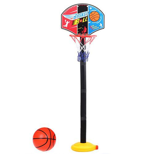 Outdoor Basketball Hoop with Adjustable Height