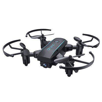 Dobrável Mini RC Drone Altitude Hold G-sensor Modo Headless