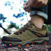 Stylish Outdoor Anti-slip Shock-absorbing Hiking Shoes - BROWN