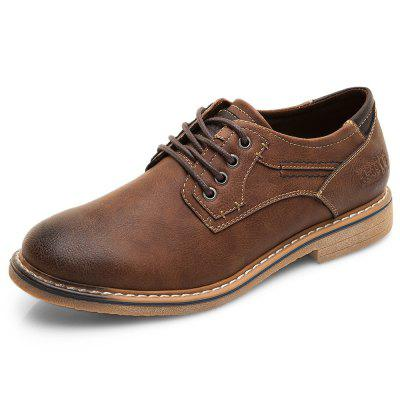 XPER Fashion Comfortable Classic Lace-up Casual Flat Shoes