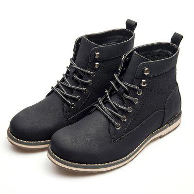 XPER Fashionable High Top Leisure Boots for Men