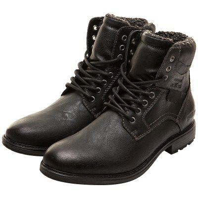 XPER Fashionable Slip-on High Top Boots for Men