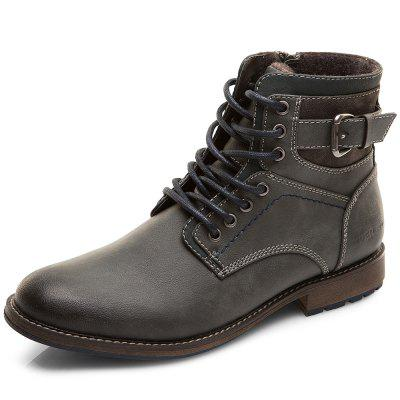 XPER Fashion Comfortable Classic Lace-up Casual Boots