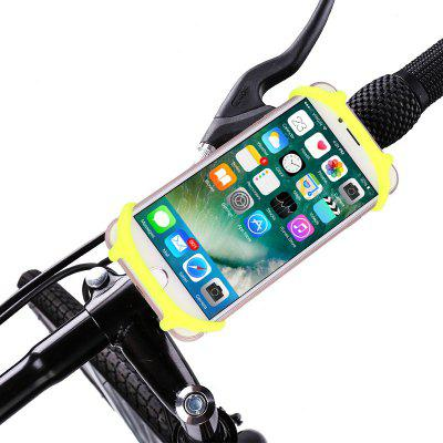 Silicone Shockproof Anti-shake Bicycle Mobile Phone Holder