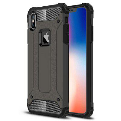 ASLING TPU + PC Bumper Back Case voor iPhone XS Max