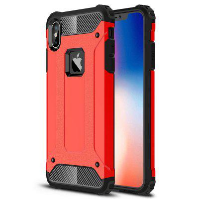 ASLING TPU + PC Bumper Back Case for iPhone XS Max