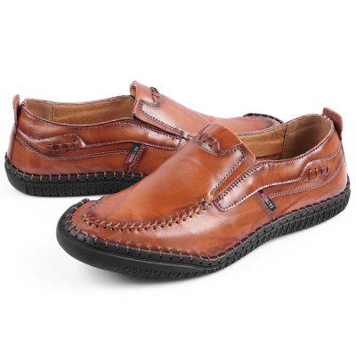 Men's Fashion Outdoor Leather Casual Shoes