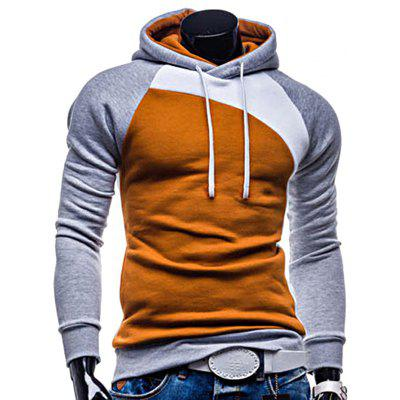 Gearbest Raglan Long Sleeve Hoodie for Men