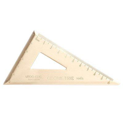 Metal Drawing Simple Office Stationery Ruler Set