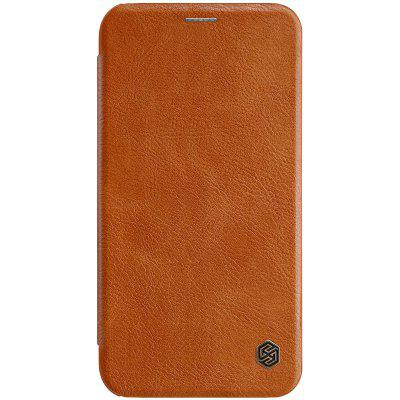 NILLKIN Flip PC + PU Leather Phone Case for iPhone XR