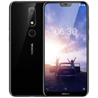 Gearbest $195.99 para NOKIA X6 5.8 inch 4G Phablet International Version - BLACK promotion