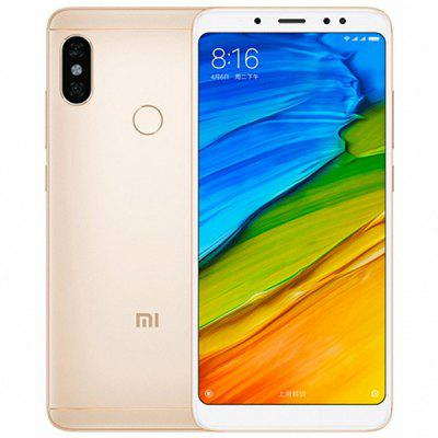 Gearbest Xiaomi Redmi Note 5 4G Phablet 3GB RAM Global Version - GOLDEN 32GB ROM Dual Rear Cameras Bluetooth 5.0 Fingerprint Recognition 4000mAh Battery