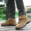 Warm Fleece Anti-slip Casual Shoes for Men - KHAKI