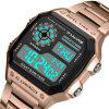 PANARS 8113 Outdoor Sports Waterproof LED Watch for Man - ROSE GOLD