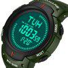 PANARS 8208 Outdoor Sports Digital Watch for Man - ARMY GREEN