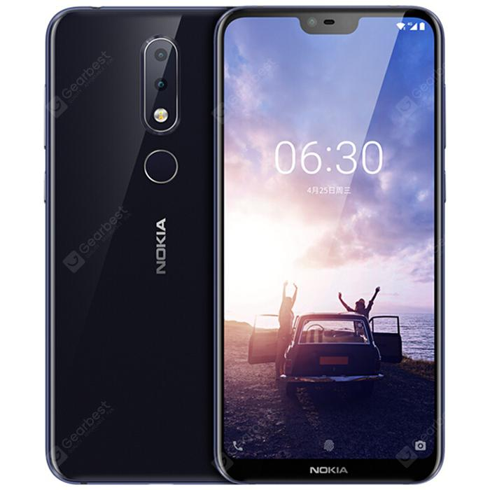 Gearbest Nokia X6 5.8 inch ( Nokia 6.1 Plus ) 4G Phablet International Version