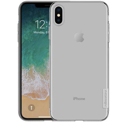 NILLKIN TPU Transparent Back Case for iPhone XS Max