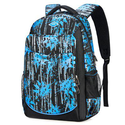 L&M Men Casual Laptop Sports Travel Backpack Computer Bag