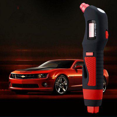 C616 4 in 1 Multi-function Digital Tire Pressure Meter TPMS