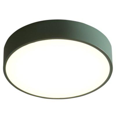 Simple Design Thin LED Ceiling Light with Green Case