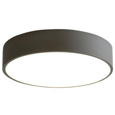 Simple Design Thin LED Ceiling Light with Gray Case