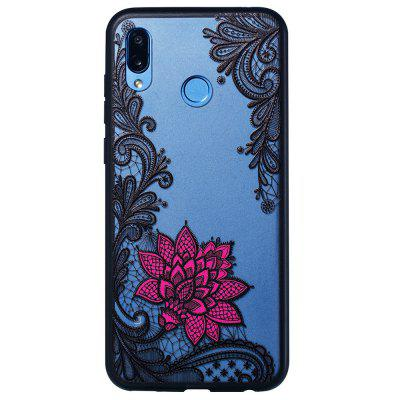 Creative TPU + PC Estuche para teléfono con relieve para HUAWEI Honor Play