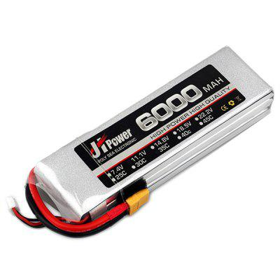 22.2V 6000mAh 35C XT60 Plug LiPo Battery 1pc