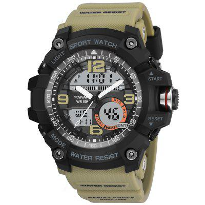 PANARS 8010 Male Digital Watch with Plastic Band