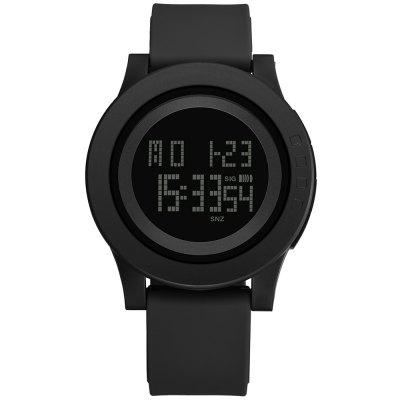PANARS 8119 Male Digital Watch with Plastic Band