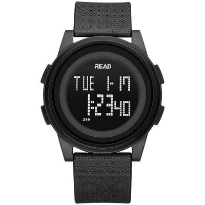READ R90004 Concise Fashion Waterproof Digital Watch for Man