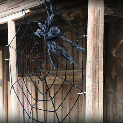 Realistic Hallowmas Spider Toy