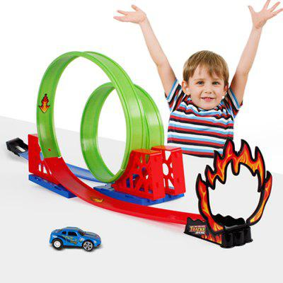 Kids Trendy Racing Car Track Toy Set