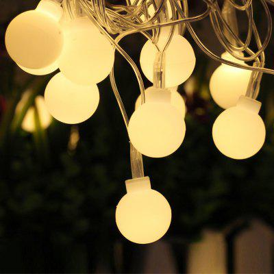 LED Light String 18MM Couleur Light Ball Christmas Birthday Party Lighting